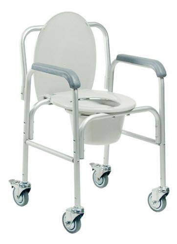 Silla comodo de aluminio for Sillas para discapacitados